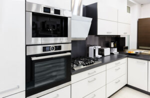 What appliance finish is easiest to clean
