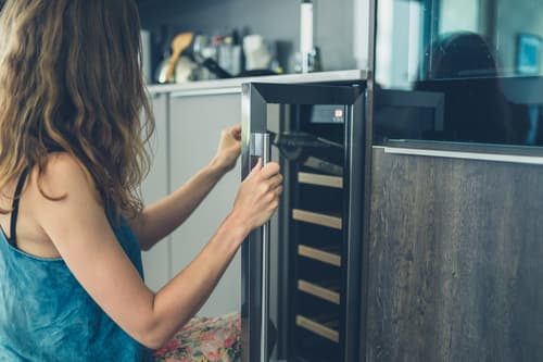 What size wine fridge do I need