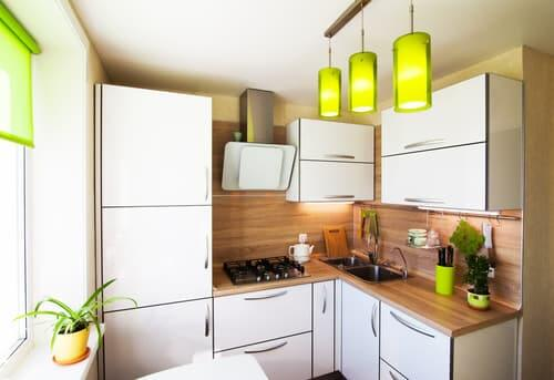 How do you keep a fridge in a small kitchen
